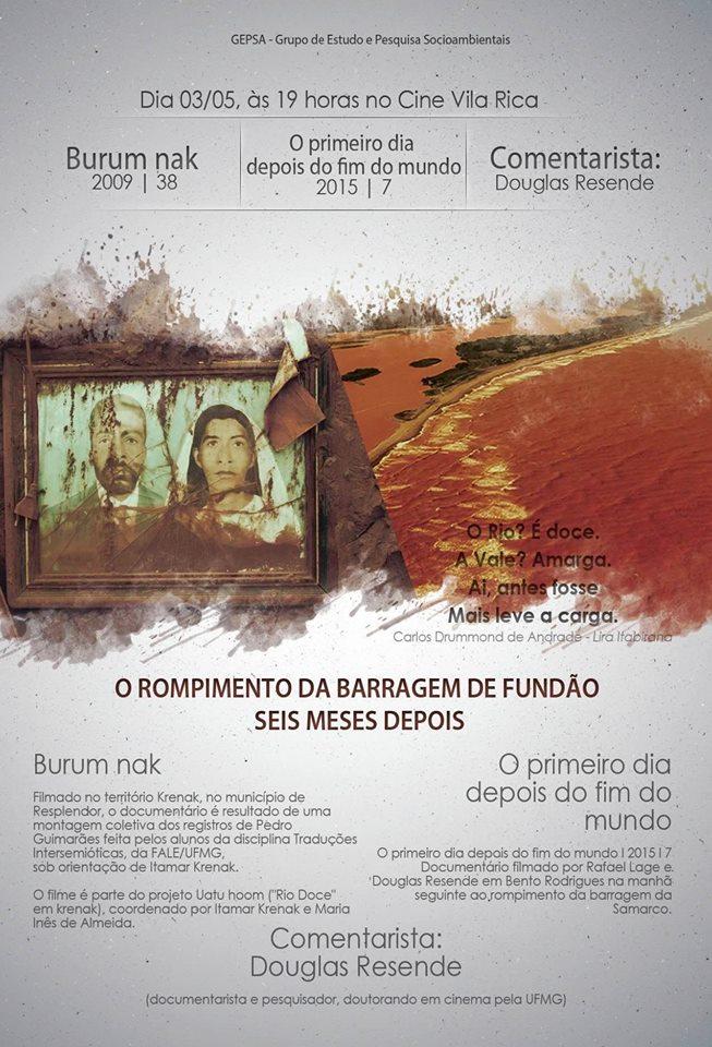 Mostra de documentários debate os seis meses do rompimento